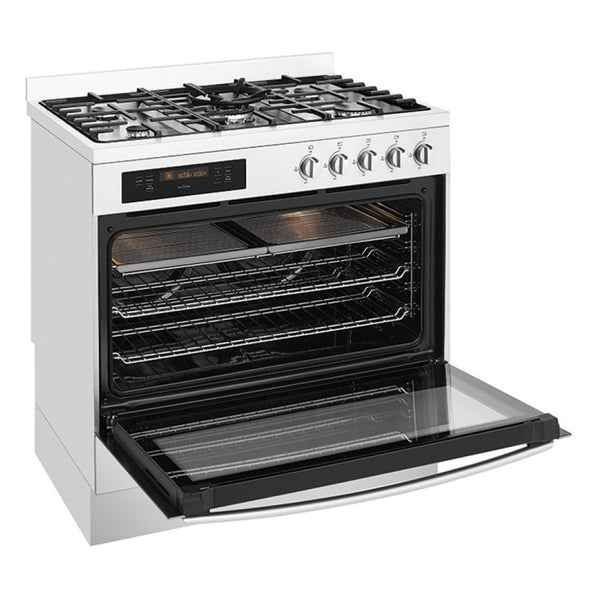 Westinghouse WFEP915SB Pyrolytic Freestanding Dual Fuel Stove