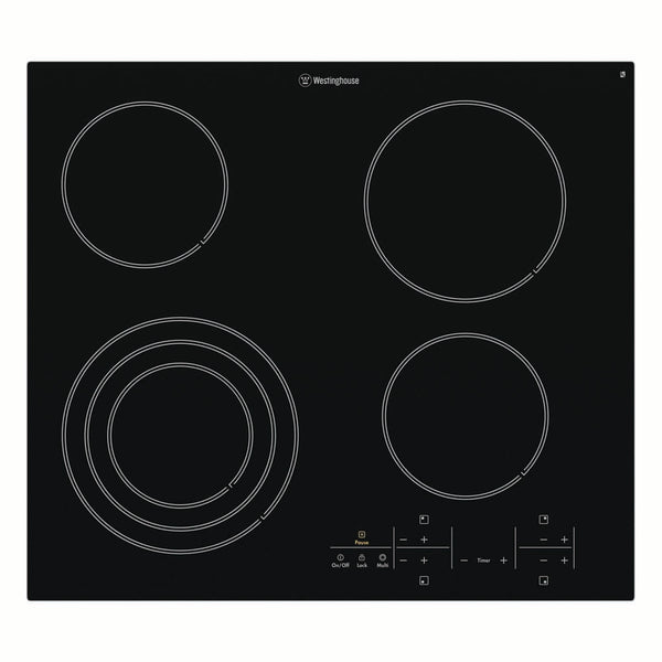 Westinghouse WHC644BA 60cm Ceramic Electric Cooktop