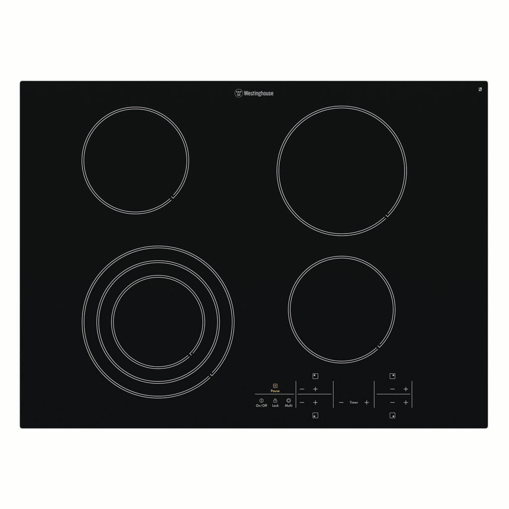 Westinghouse WHC744BA 70cm Electric Ceramic Cooktop