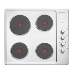 Westinghouse WHS642SA 60cm Electric Solid Hotplate Cooktop
