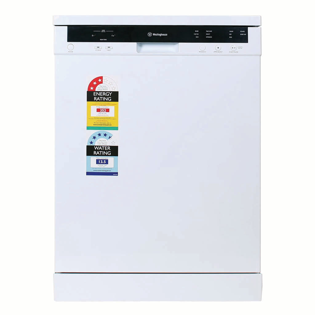 Westinghouse WSF6606W Freestanding White Dishwasher