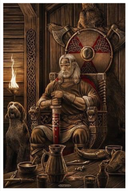 FORSETI & TYR - NORSE GOD OF JUSTICE