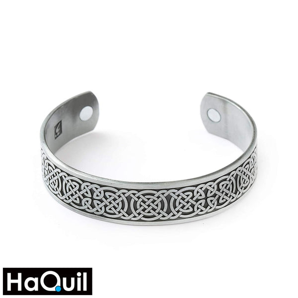 Haquil Punk Hologram Viking Knot Magnet Bracelet Alloy / Womens Metal Jewelry
