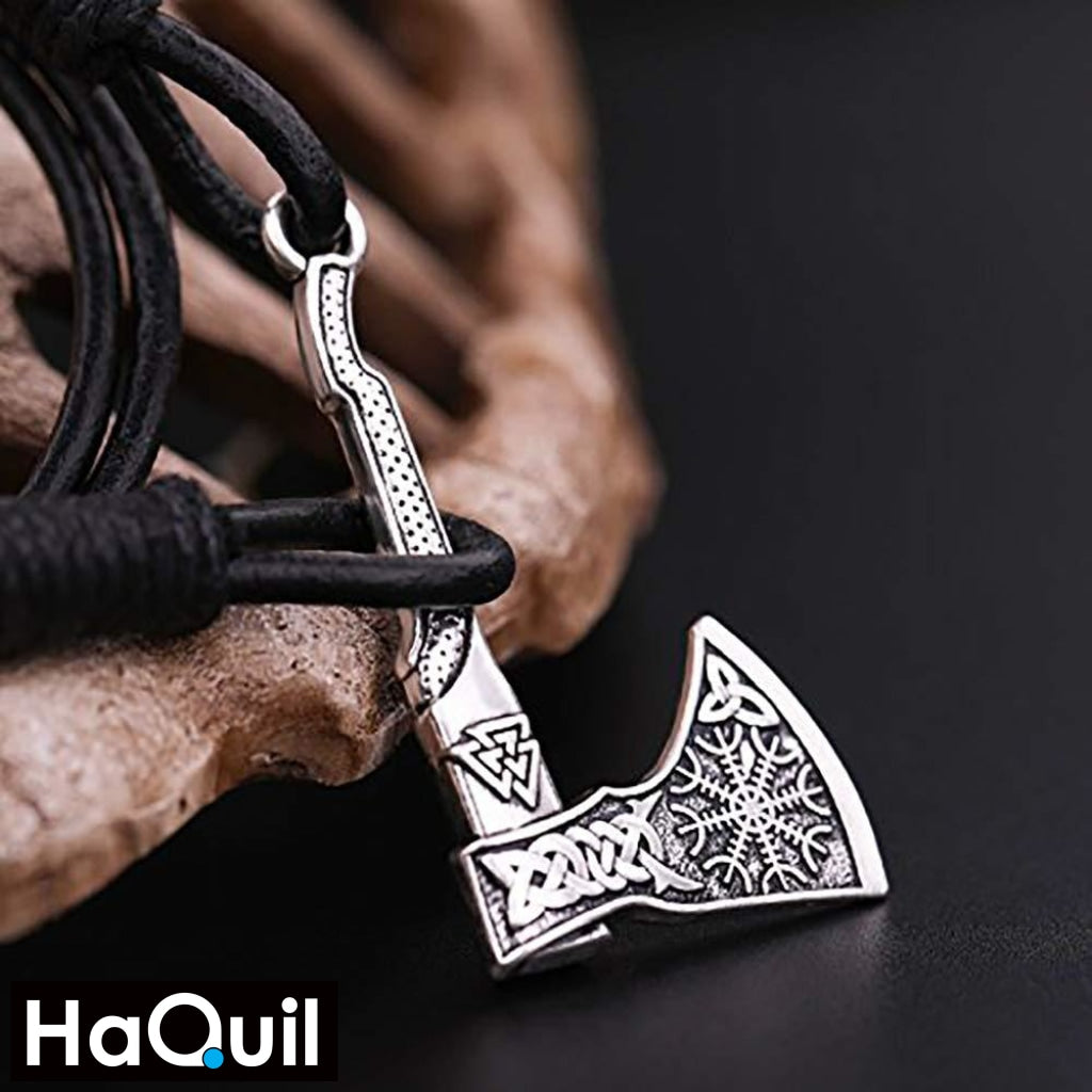 Haquil Punk Viking Axe Bracelet Jewelry