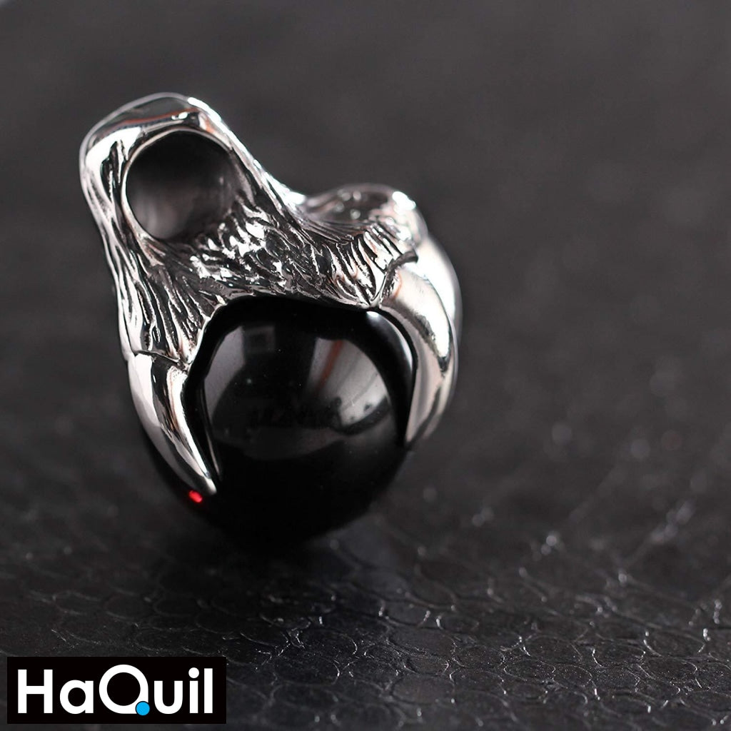 Haquil Punk Wolf Claw Necklace Jewelry