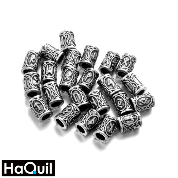 Haquil Viking 24Pcs Runes Hair Clips Beauty