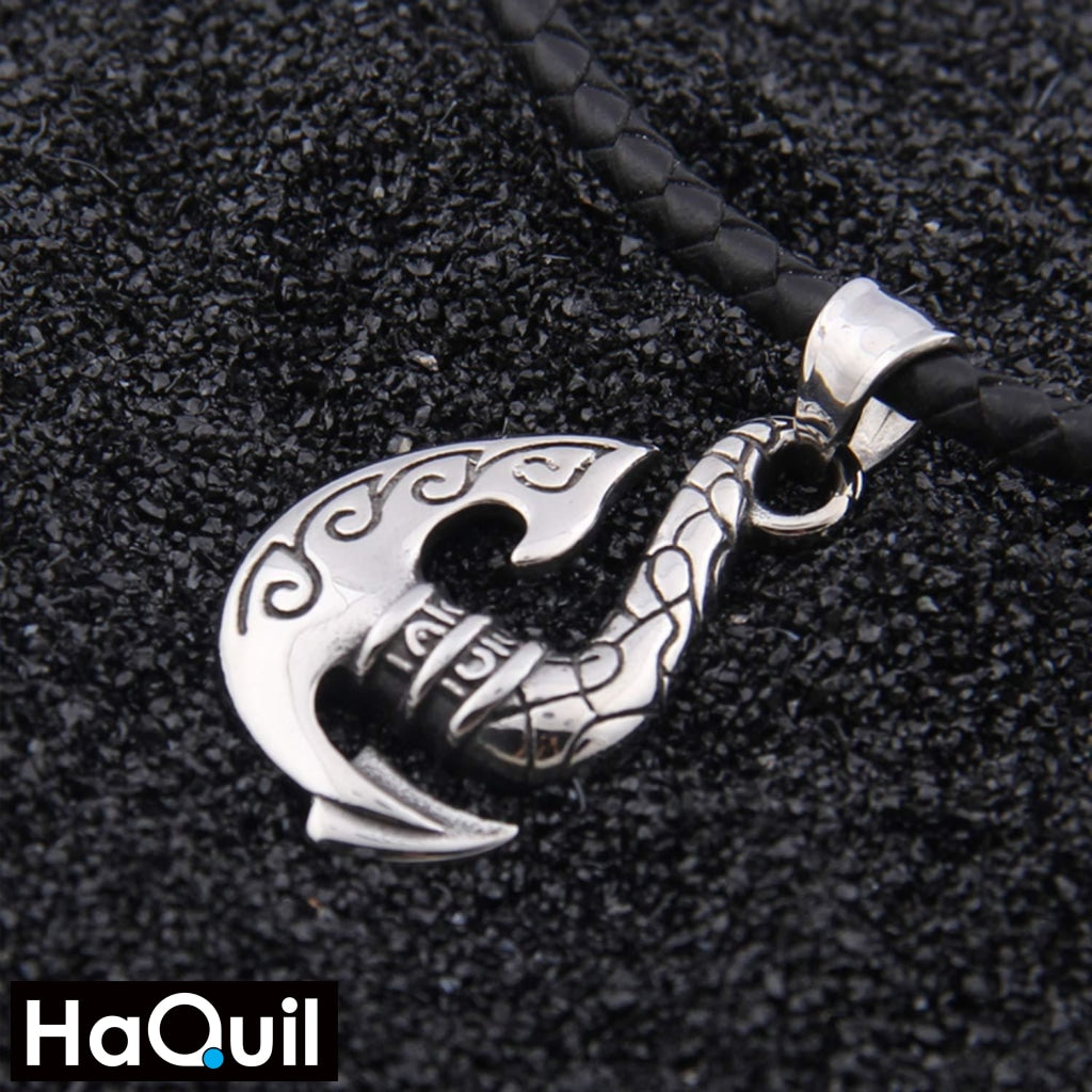 Haquil Viking Axe Arrow Necklace Jewelry