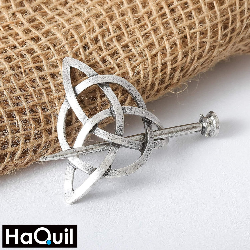 Haquil Viking Celtic Knot Hairpin For Women Apparel