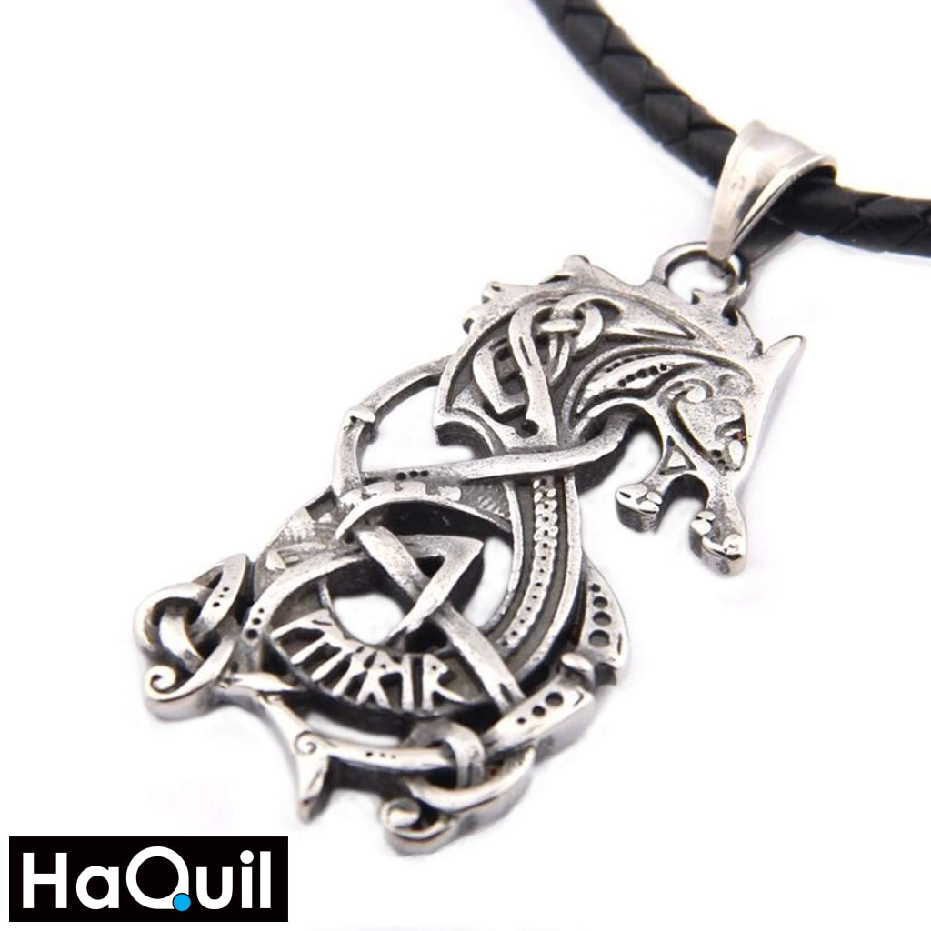 Haquil Viking Dragon Necklace Alloy / Mens Metal Jewelry