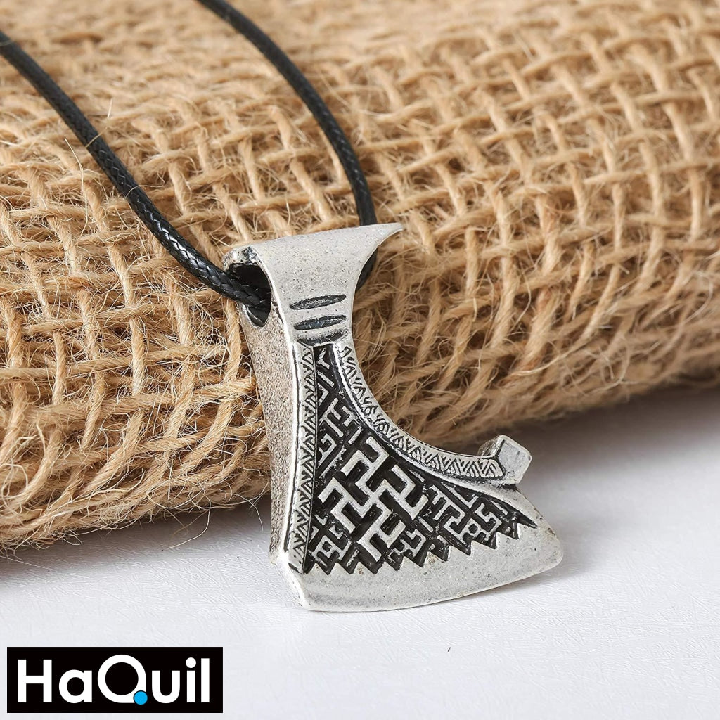 Haquil Viking Dukhobor Amulet Slavic Axe Necklace Jewelry