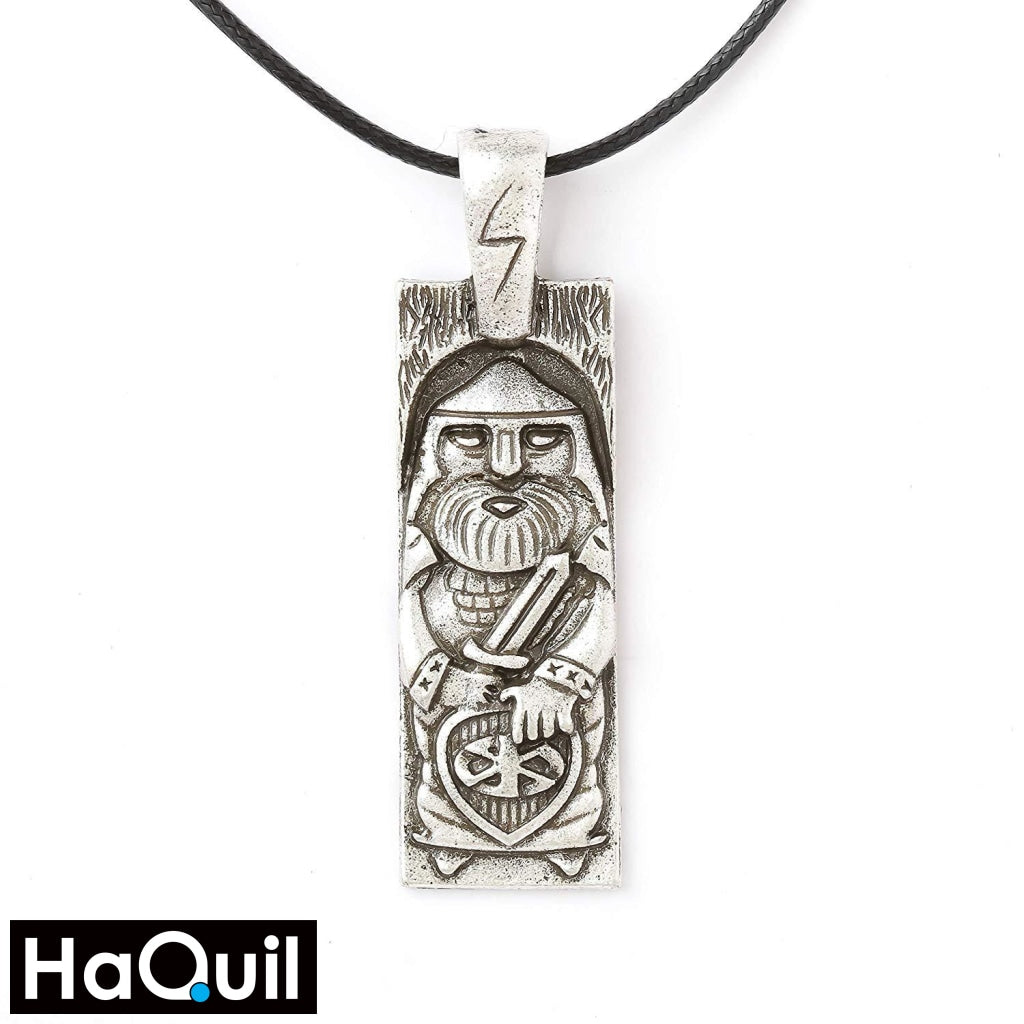 Haquil Viking Perun Slavic God Necklace Alloy / Womens Metal Jewelry