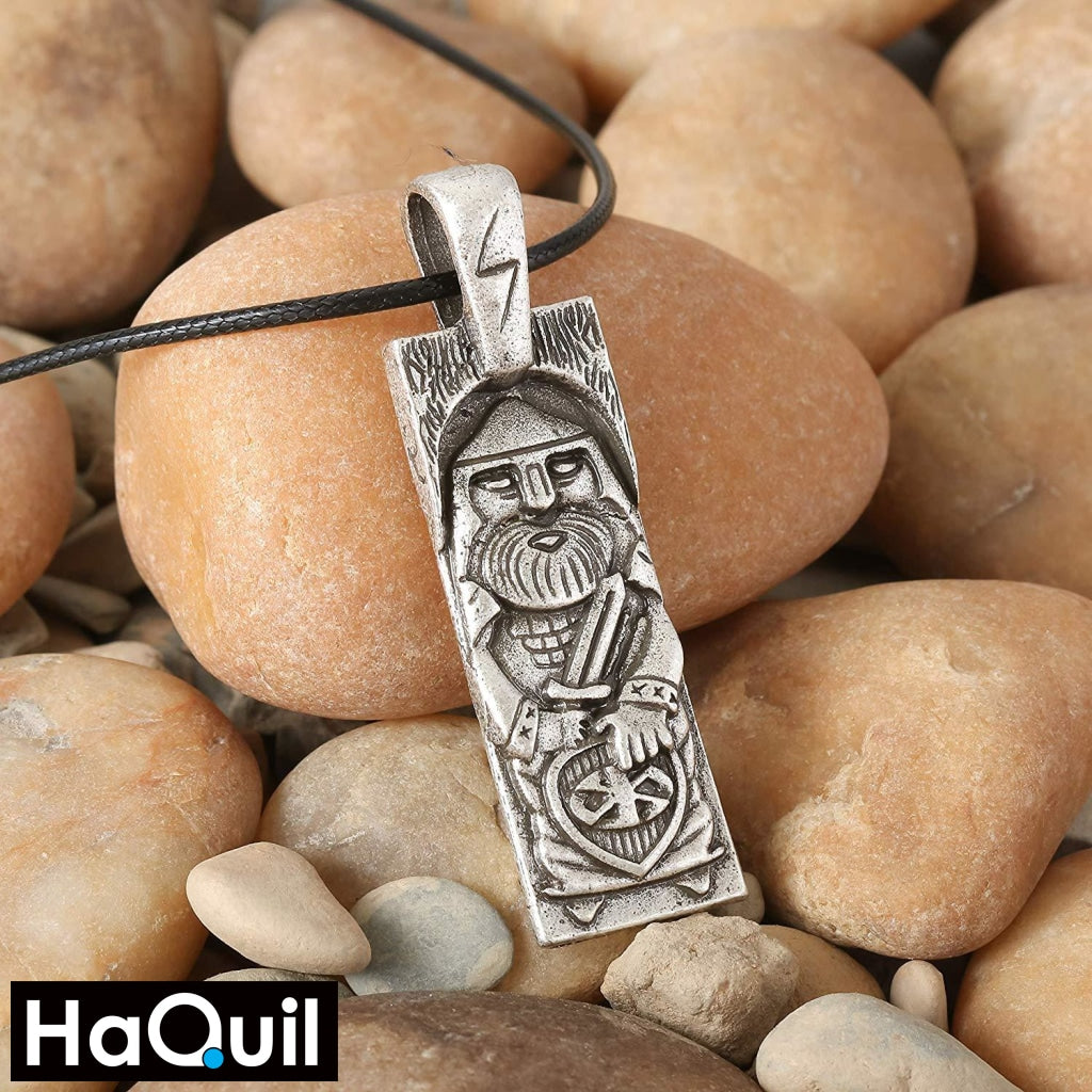 Haquil Viking Perun Slavic God Necklace Jewelry