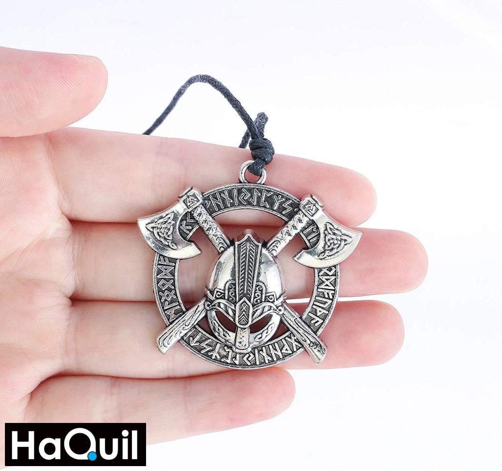 Haquil Viking Thor Hammer Mjolnir Necklace Jewelry