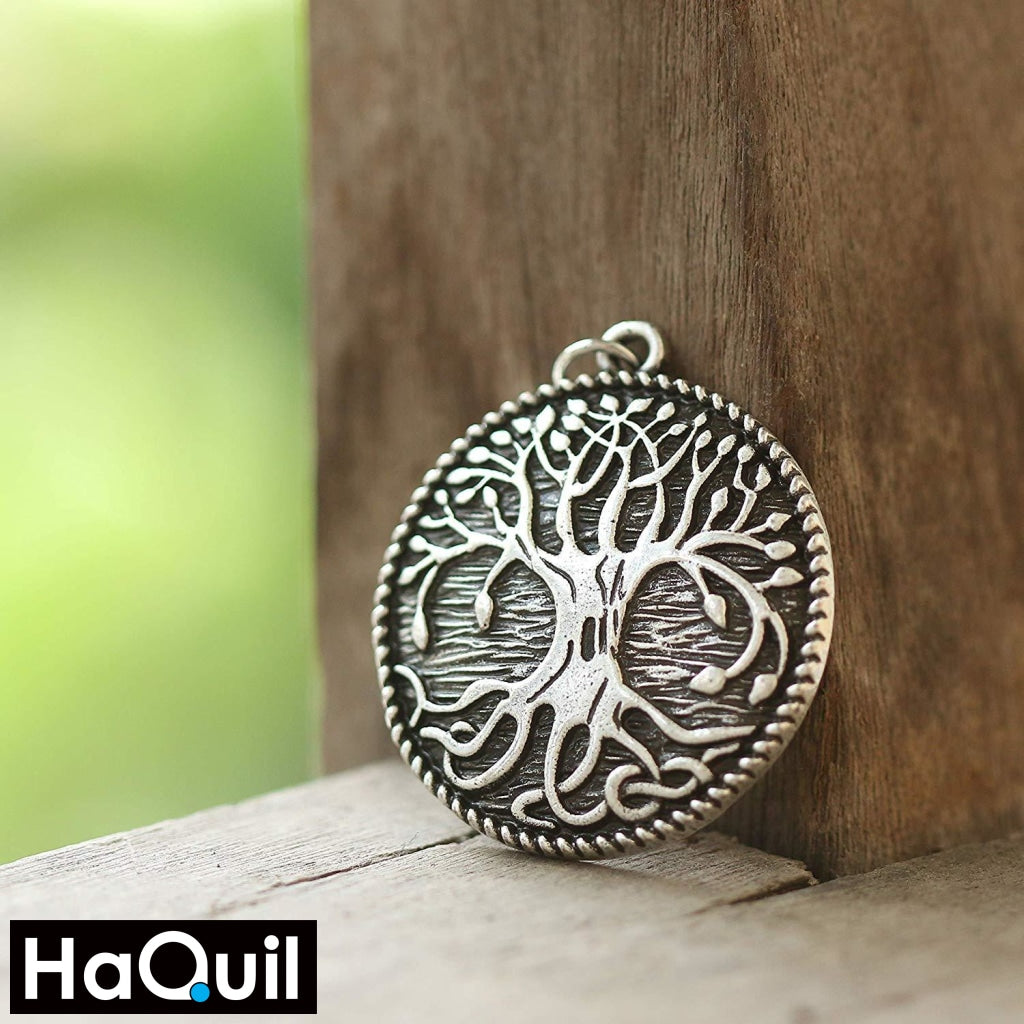 Haquil Viking Tree Of Life Earrings Jewelry
