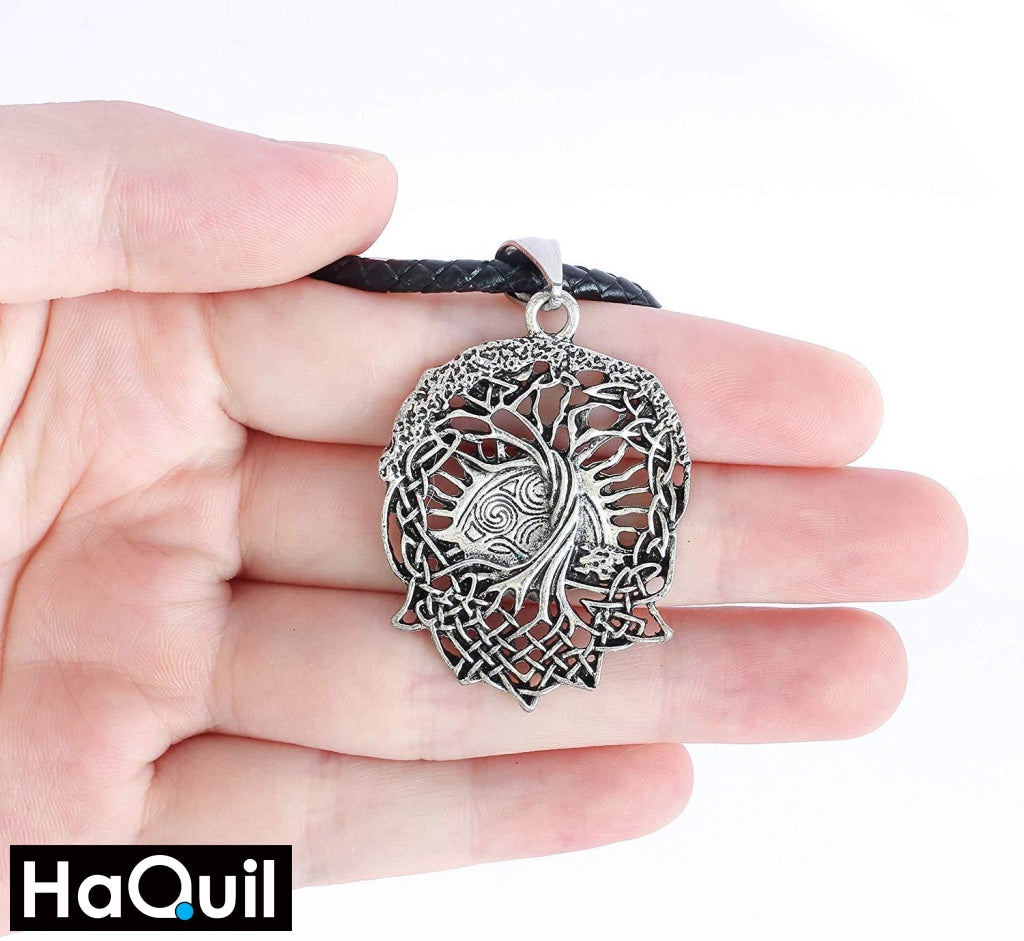 Haquil Viking Tree Of Life Necklace Jewelry