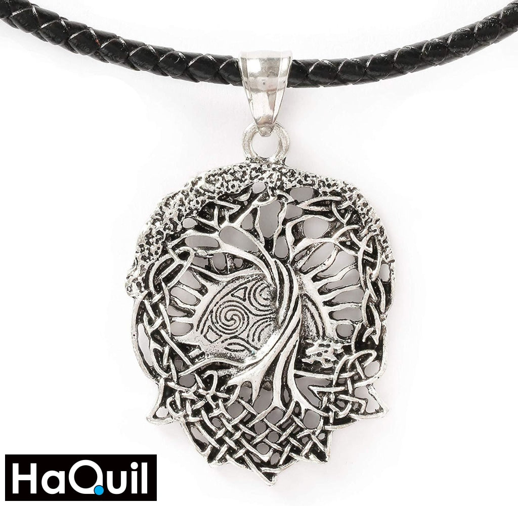 Haquil Viking Tree Of Life Necklace Stainless-Steel / Womens Metal Jewelry