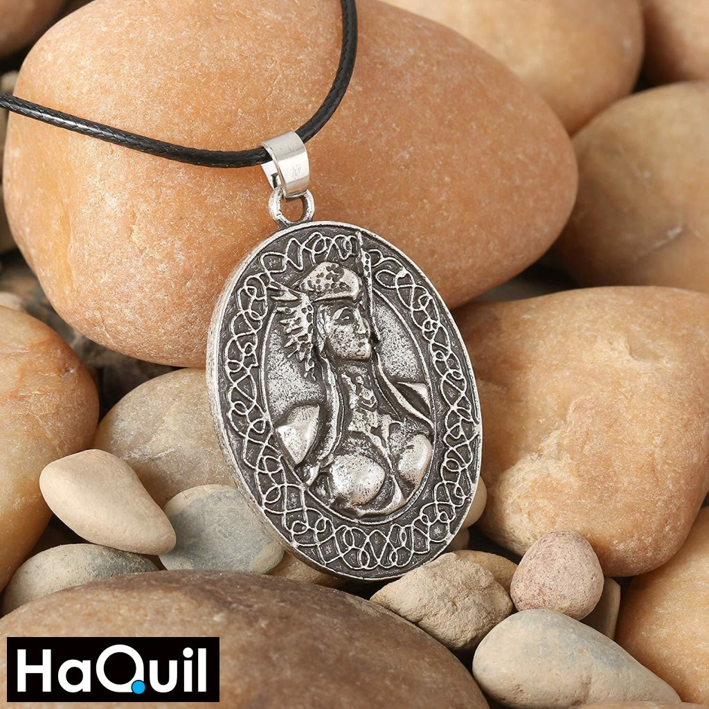 Haquil Viking Valkyrie Freya Necklace Jewelry