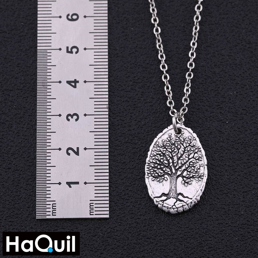 Haquil Vintage Tree Of Life Necklace Jewelry