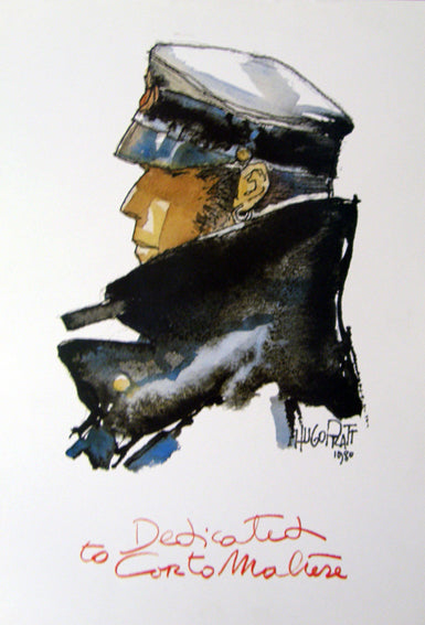 Poster Dedicated To Corto Maltese - Grifo Edizioni