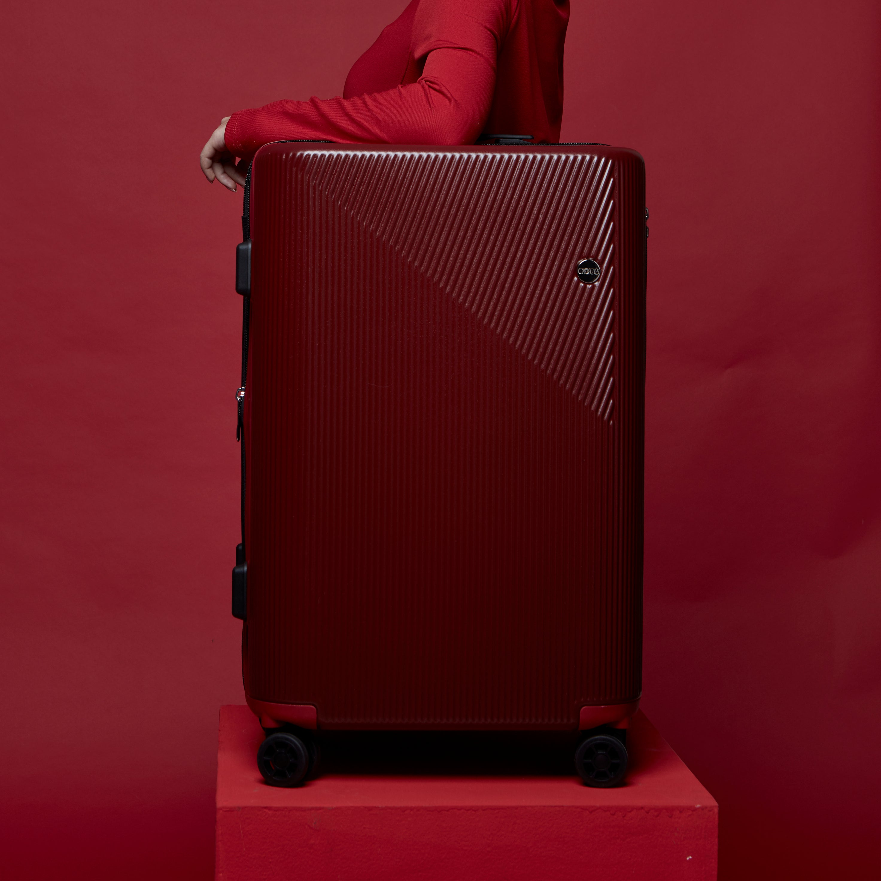 MaxMotion Expandable สี Red Tango
