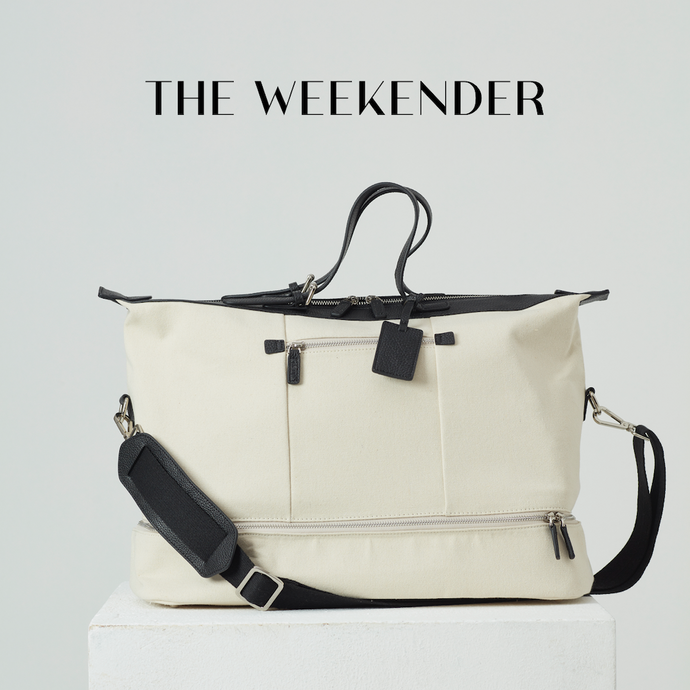 The Weekender Bag สี Smart Black