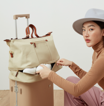 The Weekender Bag สี Brown Sugar