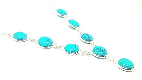 Turquoise Oval Set