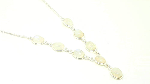 Moonstone Oval Set