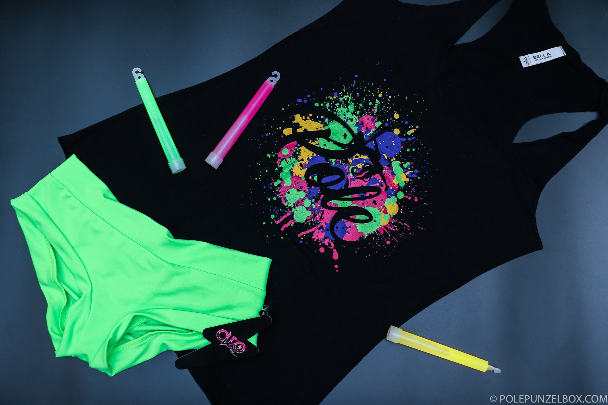 Get your Glow On - Poler Racerback Tank