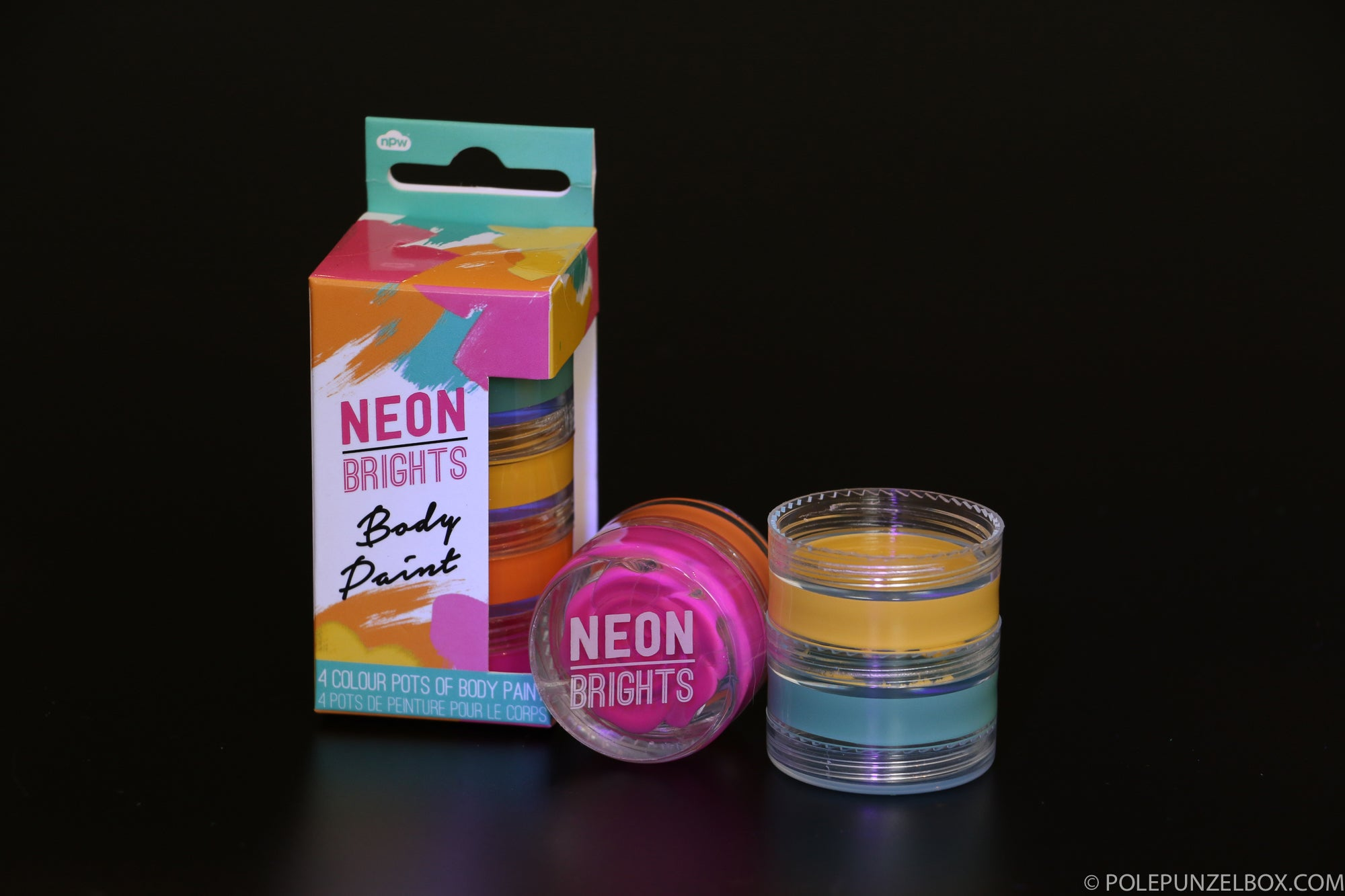 Get Your Glow On - Neon Stack Body Paint