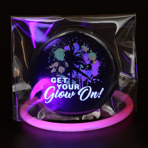 Get Your Glow On - Button