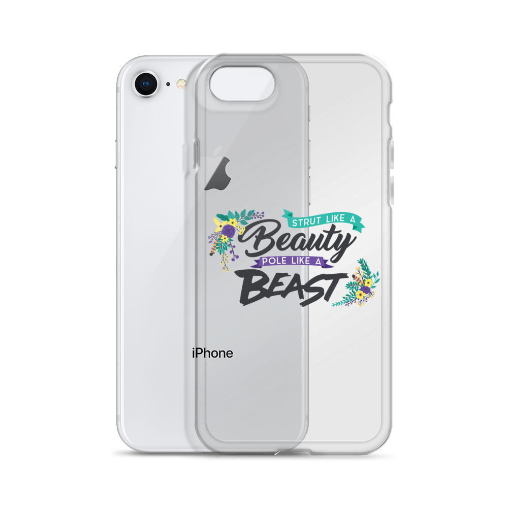 """Pole Like a Beast"" iPhone Case"
