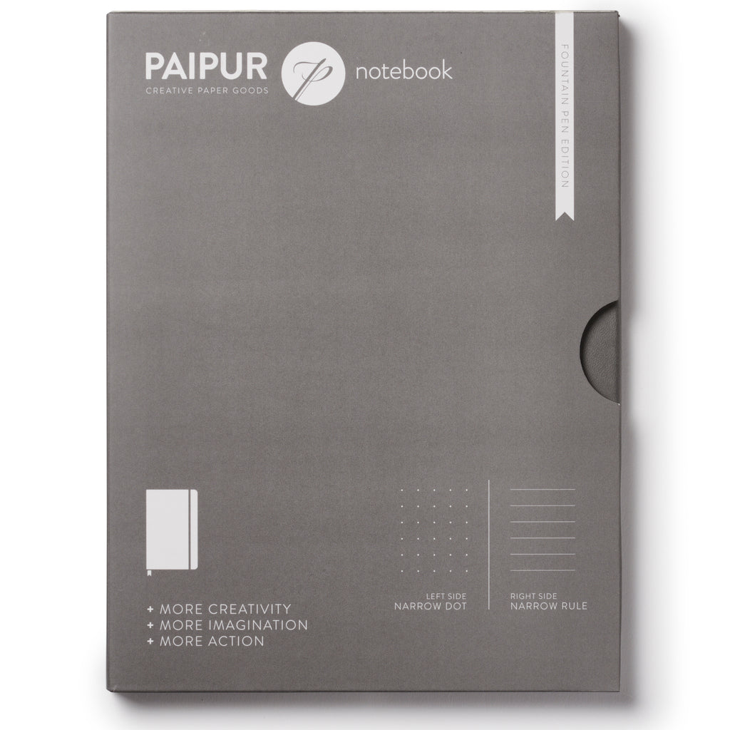 Plain Format Notebook - FOUNTAIN PEN EDITION - BLANK pages - 120GSM
