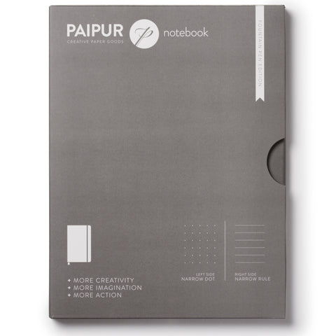 Image of Plain Format Notebook - FOUNTAIN PEN EDITION - BLANK pages - 120GSM