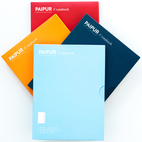 Hybrid Format Notebook - COLOR SERIES - NARROW spacing 0.24 inch