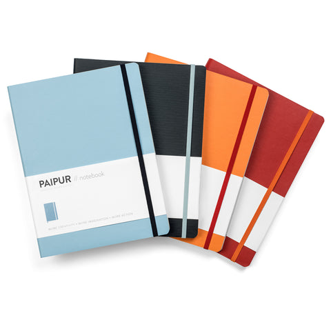Image of Hybrid Format Notebook - COLOR SERIES - NARROW spacing 0.24 inch