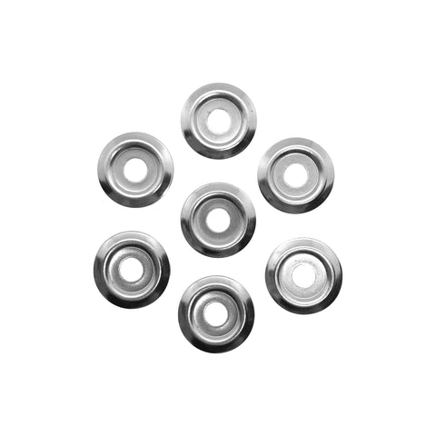 A collection of Binding Screw Washers - Silver / Nickel by Gobrecht & Ulrich