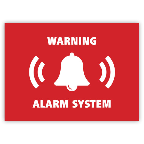 Warning Alarm System Sticker by Gobrecht & Ulrich