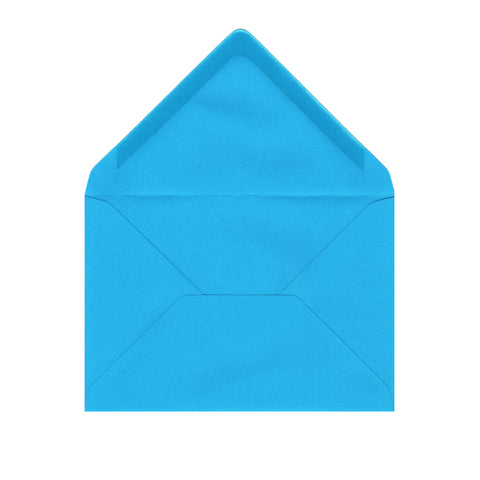 C6 Bright Blue Envelopes by Gobrecht & Ulrich - Open