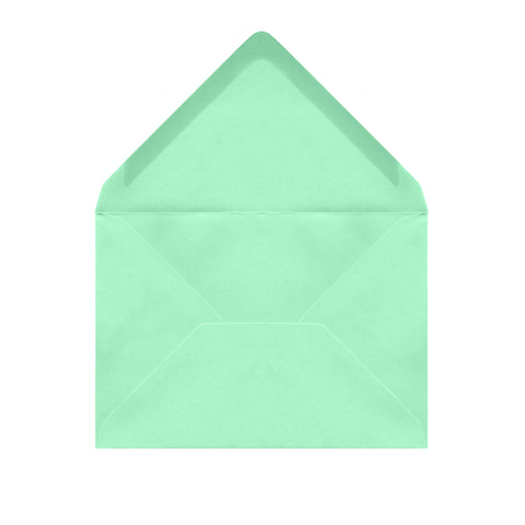 C6 Soft Green Envelopes by Gobrecht & Ulrich
