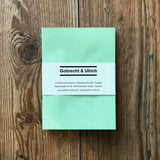 C6 Soft Green Envelopes by Gobrecht & Ulrich - With Packaging