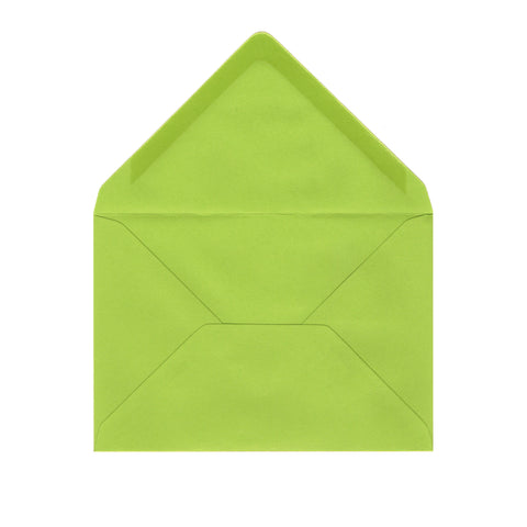 C6 Spring Green Envelopes by Gobrecht & Ulrich