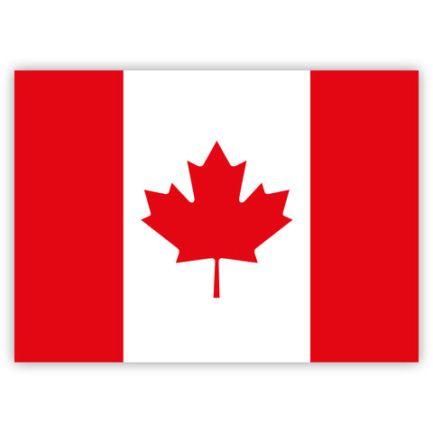 Canadian Flag Stickers by Gobrecht & Ulrich
