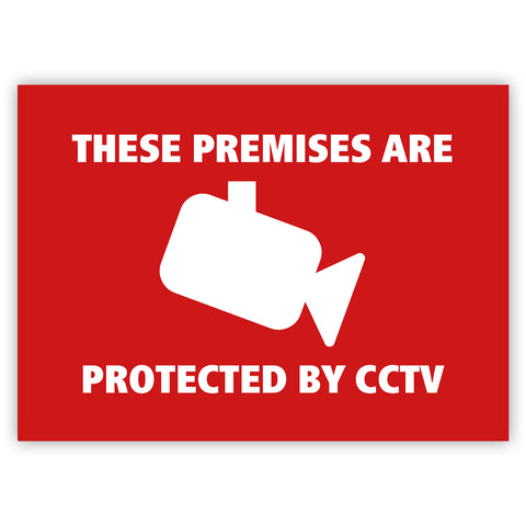 CCTV Camera Stickers by Gobrecht & Ulrich