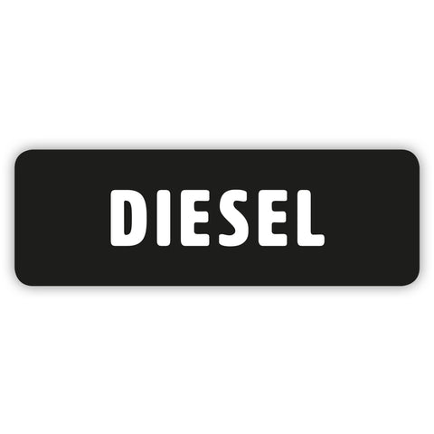 Diesel Only Sticker by Gobrecht & Ulrich