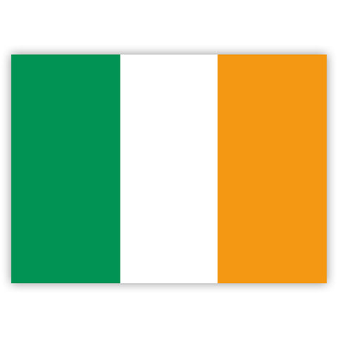 Irish Flag Stickers by Gobrecht & Ulrich