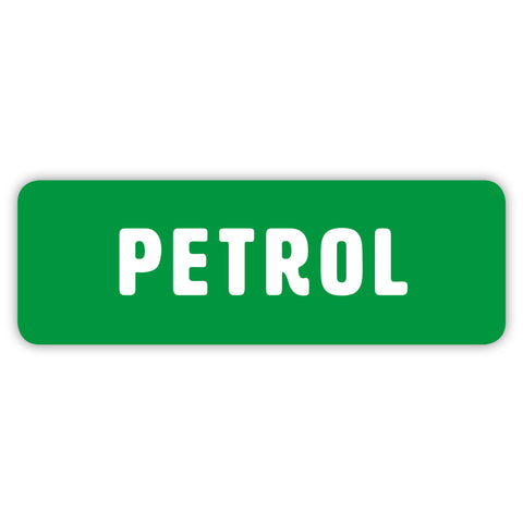 Petrol Only Sticker by Gobrecht & Ulrich