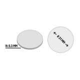 Illustration Ø21mm Self-adhesive Metal Discs by Gobrecht & Ulrich