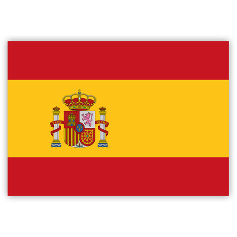 Spanish Flag Stickers by Gobrecht & Ulrich