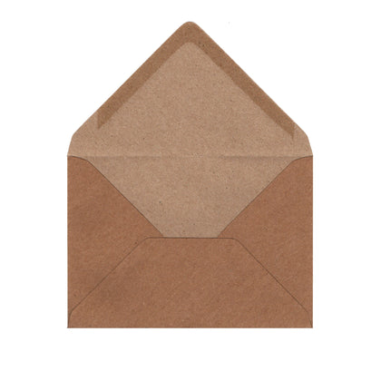 Fleck Kraft Envelopes by Gobrecht & Ulrich - Open